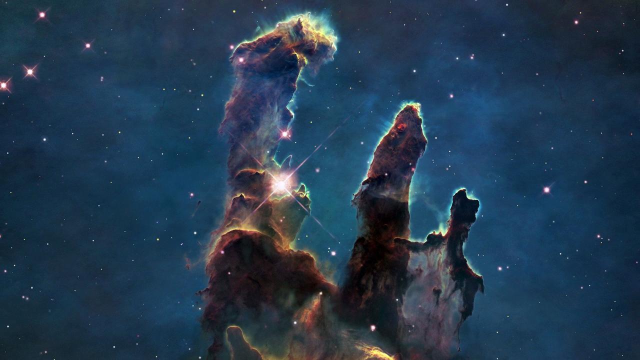 Pillars Of Creation Wallpaper Hd