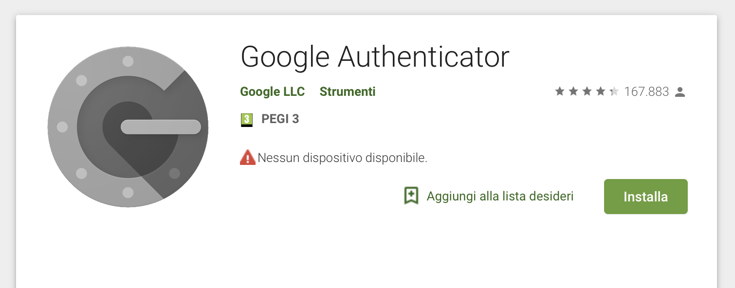 Come fare il backup a Google Authenticator