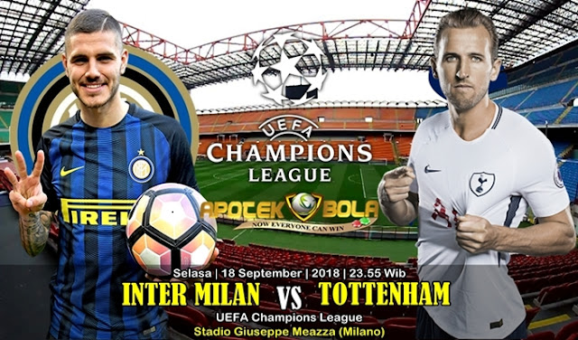 Prediksi Internazionale Vs Tottenham Hotspur 18 September 2018