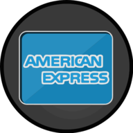 american express glowing icon