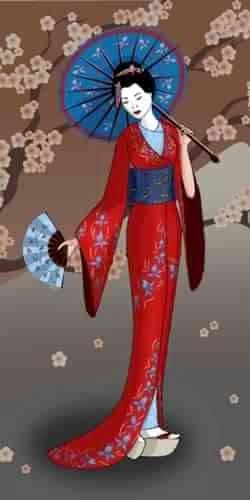 Кихару Накамура,советы гейши