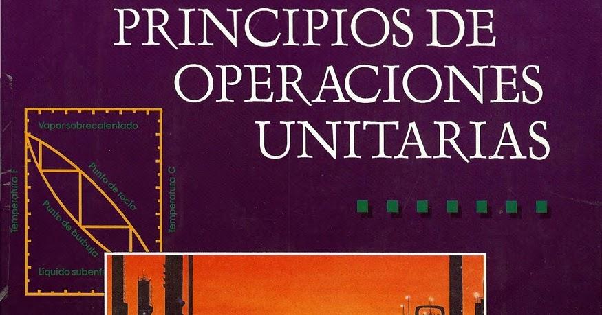 libro de principios de operaciones unitarias de alan foust