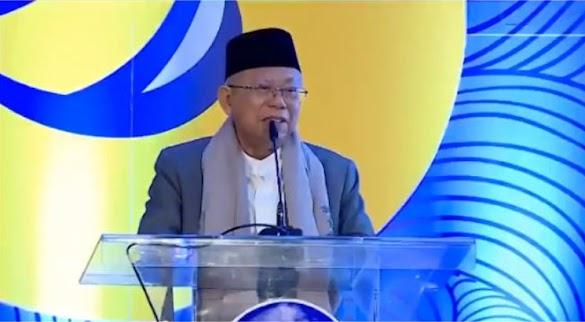 Dihadapan Caleg Nasdem, Maruf Amin Menyatakan akan Menerapkan Islam Nusantara