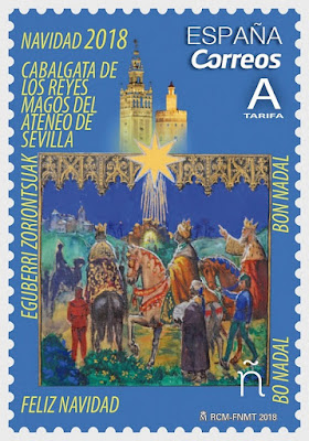 Navidad 2018 - España  - Cabalgata de Reyes del Ateneo de Sevilla