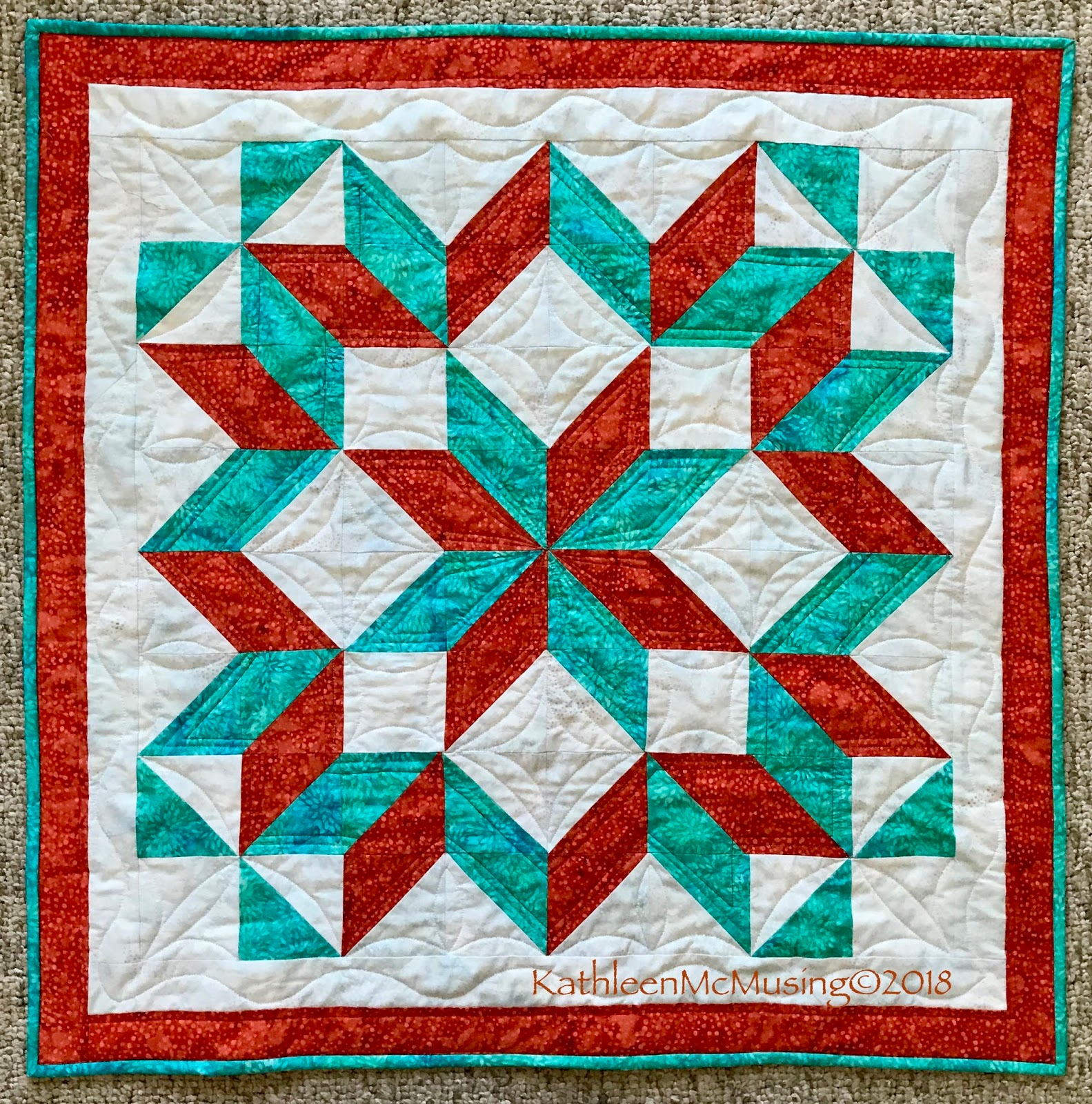 Looking Backa New Carpenter Star From A Vintage Quilt Kathleen