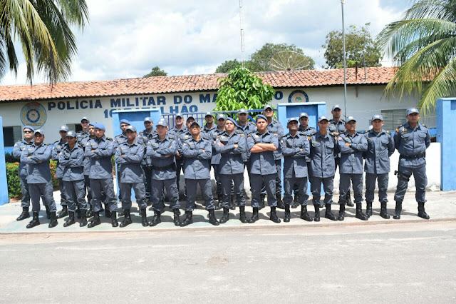 Reforço: 16º Batalhão recebe novos policiais militares e garante mais segurança nas ruas de Chapadinha