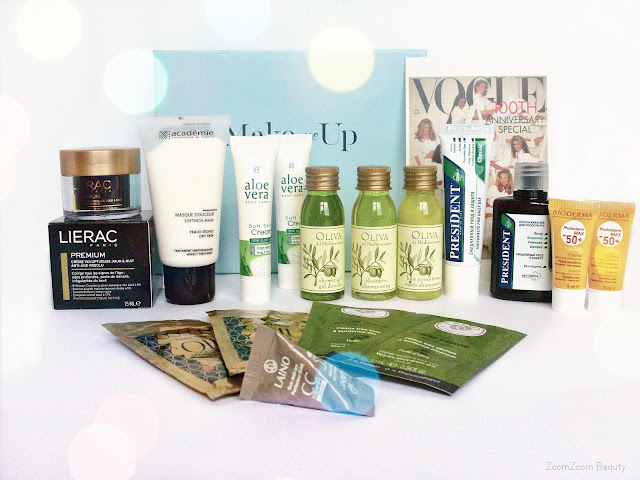 Beauty box, коробочка красоты, коробочка с миниатюрами, миниатюры косметики, отзывы, бьюти блогер