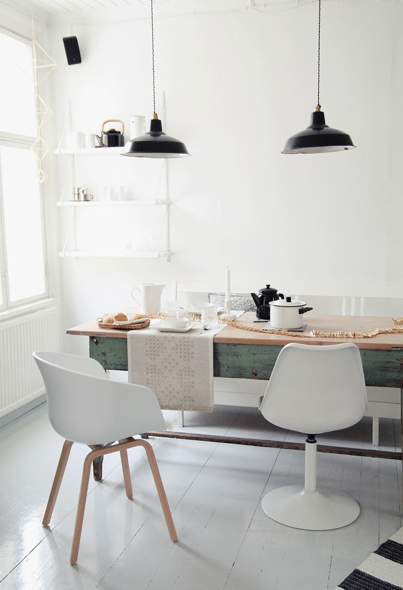 my scandinavian home a cosy and warm finnish table setting. Black Bedroom Furniture Sets. Home Design Ideas