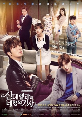 Pemain Cinderella and Four Knights
