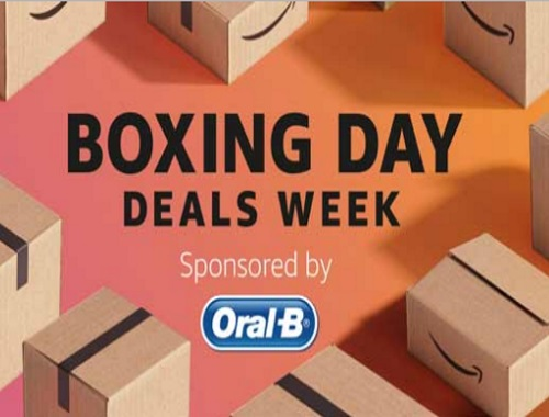 Amazon Boxing Day Deals Week