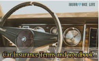 Car Insurance Terms and wordbook