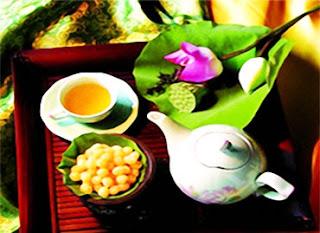 Green Tea with Lotus Aroma