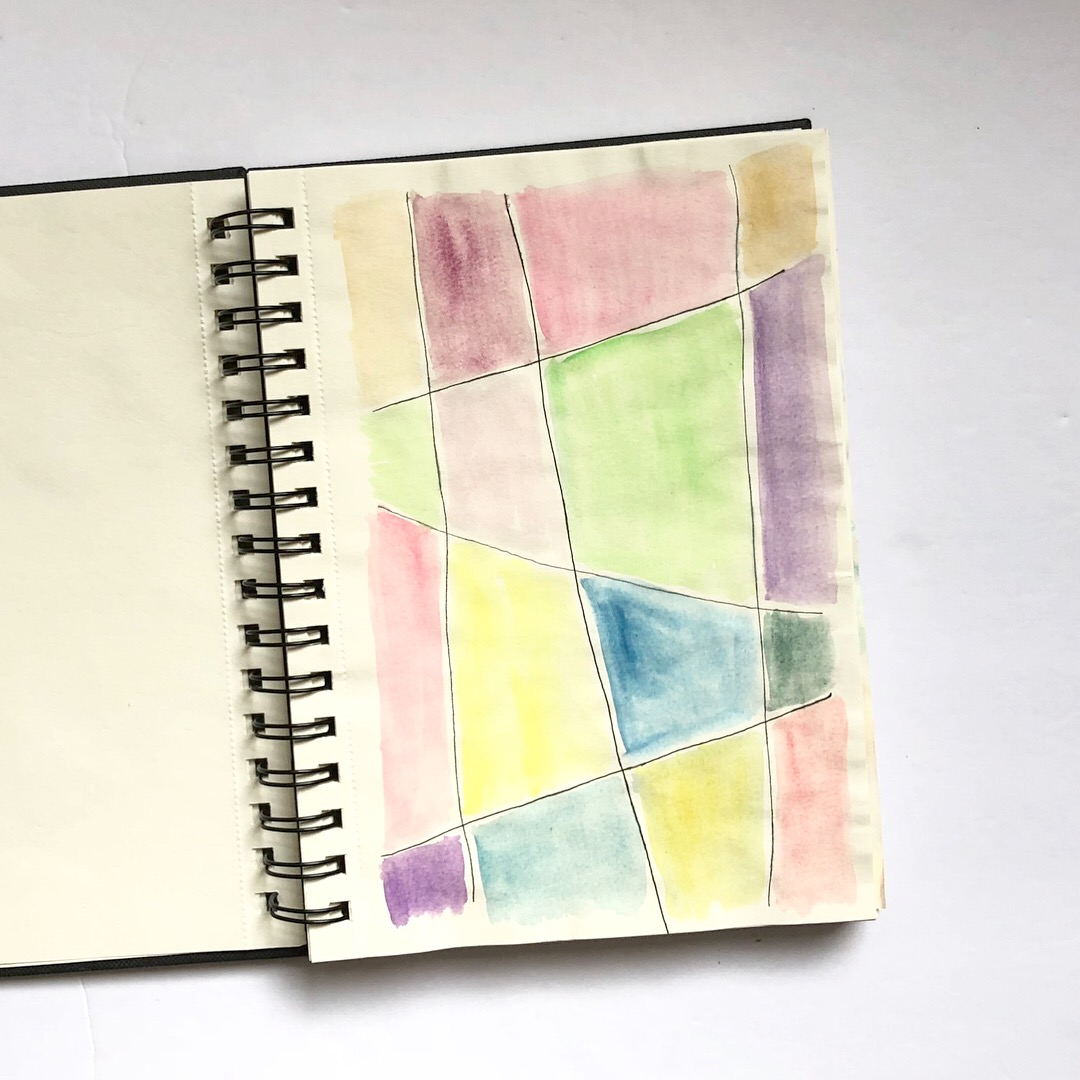 #watercolor #art journaling #art journal #mixed media #watercolor art journal #summer projects #doodling #me time