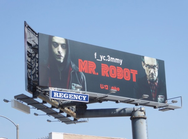 Mr Robot season 2 Emmy billboard