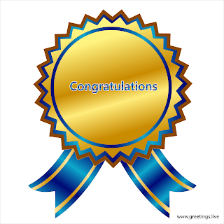 Congratulations Ribbon Badge Images.