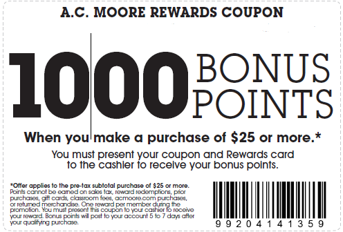 picture about Ac Moore Coupon Printable called Ac discount codes moore - Coupon trivia split