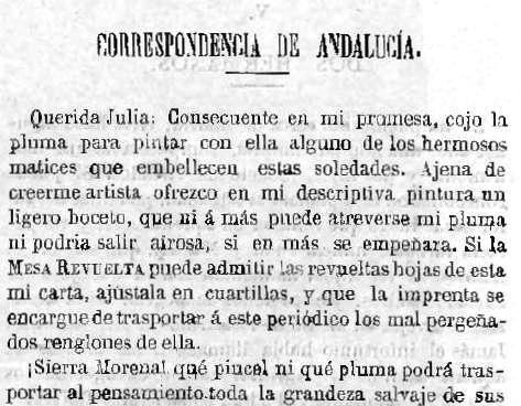 Fragmento de la primera entrega del artículo publicada en La Mesa Revuelta