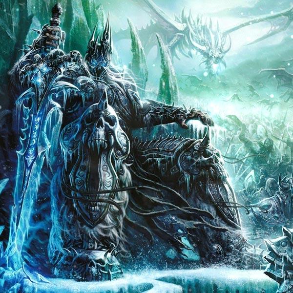 World of Warcraft: Arthas Wallpaper Engine