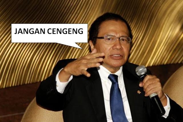 Rizal Ramli: Ahok jangan cengeng
