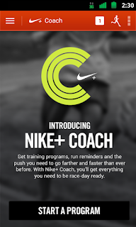 Nike Android Application For health