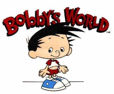 O fantástico mundo de Bobby desenho antigo