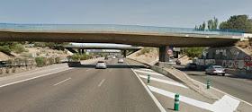 Cortes de tráfico por obras en el puente de la M-11 sobre la A-1