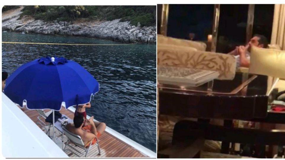 Ο Τσίπρας σε θαλαμηγό. Χαμός στο διαδίκτυο για τις φωτογραφίες