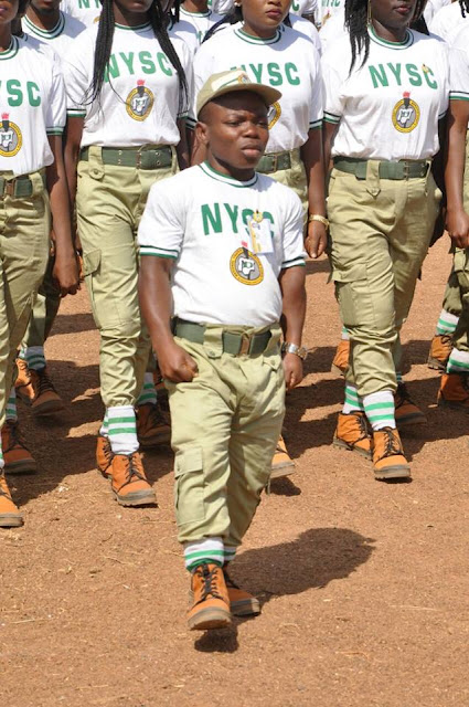 "See The ""Extraordinary"" Corper Who Won The Heart Of Bauchi Governor During POP.... Vloot2"