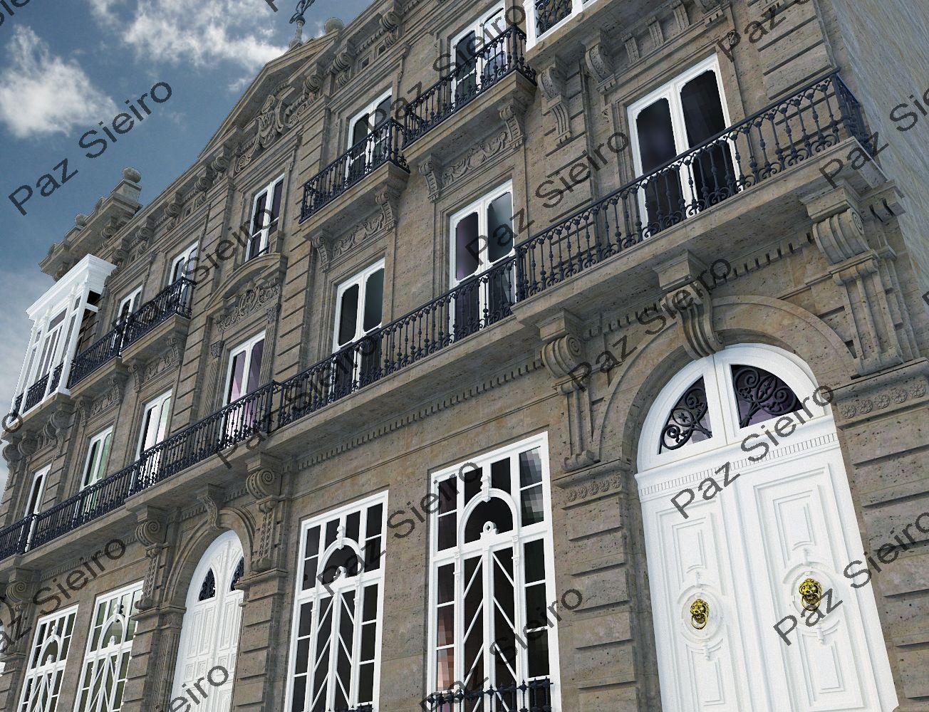 Works 3d edificio sime n 1894 r a progreso ourense - Arquitectos ourense ...