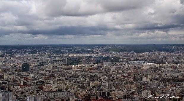 Parigi, panorama dal Tour Montparnasse