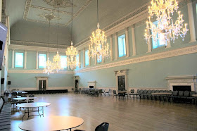 The ball room, the Upper Rooms, Bath