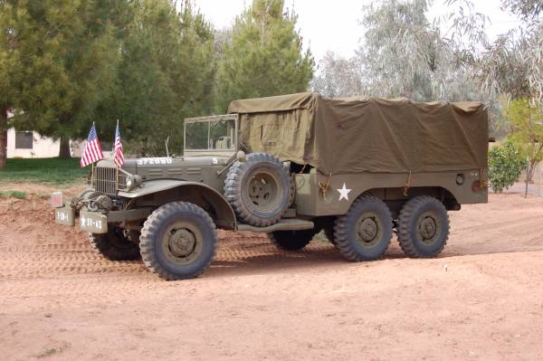 1944 Dodge WC63 6x6 Army Truck | Auto Restorationice
