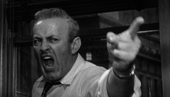 What is juror 8 premise in 12 angry men