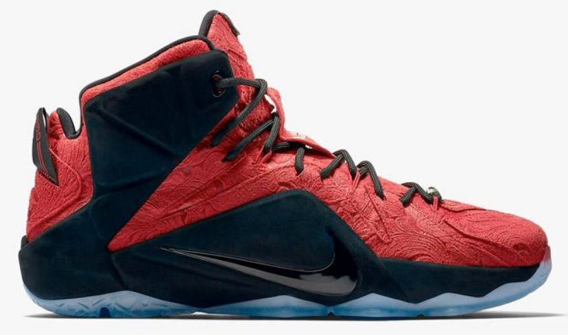 99866e01f15 ... best price nike lebron 12 red cloak ext sneaker available now detailed  look with dj delz ireland ...