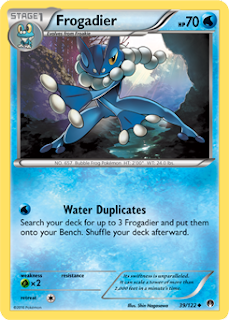 Frogadier BREAKpoint Pokemon Card