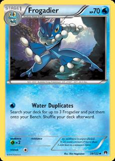 Frogadier BREAKpoint Pokemon Card
