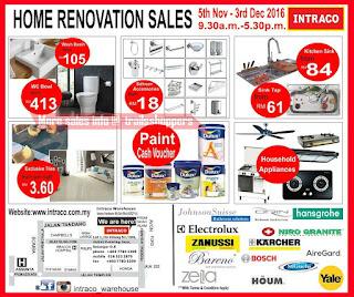 Intraco Warehouse Home Renovation Sale 2016