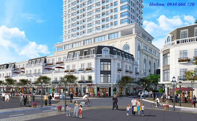 Khu quảng trường mua sắm - Vincom Shophouse Phủ Lý - Hà Nam