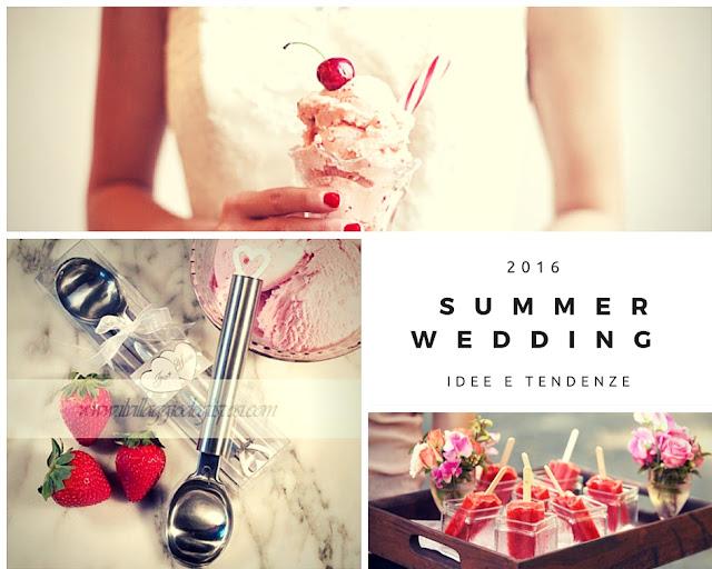 consigli e tendenze per dare vita ad un perfetto matrimonio d'estate.