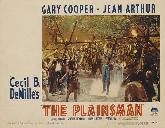 FROM DUNDEE'S DESK: Another Look: THE PLAINSMAN (1936)
