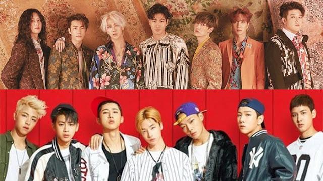 Super Junior dan iKon