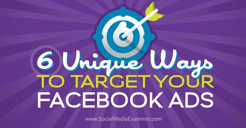 不藏私!鎖定精準客群,讓臉書廣告更有效率的6種技巧
