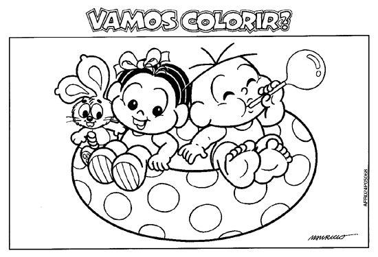120 Desenhos Para Colorir Turma Da Monica Atividades E Desenhos