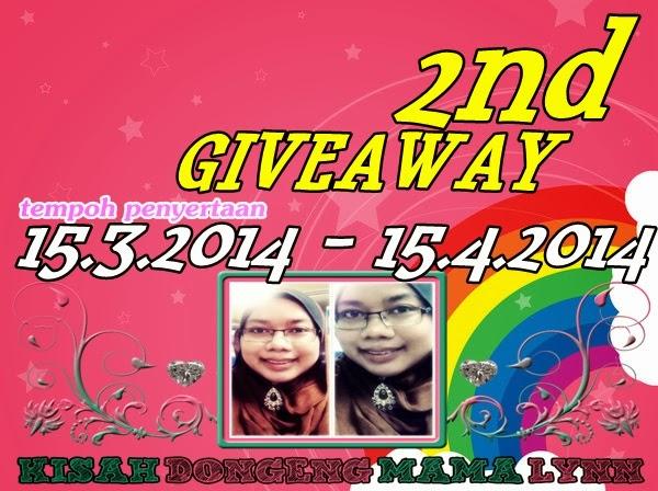 Kisah Dongeng Mama Lynn 2nd Giveaway.