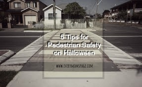 5 Tips for Pedestrian Safety on Halloween