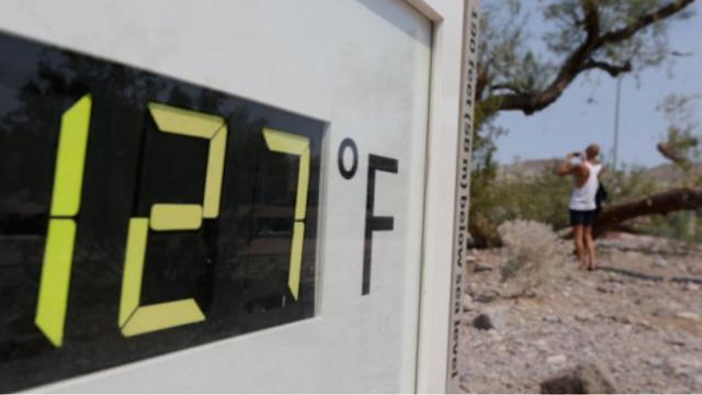 """""""Κοιλάδα του Θανάτου"""": Ρεκόρ ζέστης τον Ιούλιο με 48,9 βαθμούς Κελσίου"""