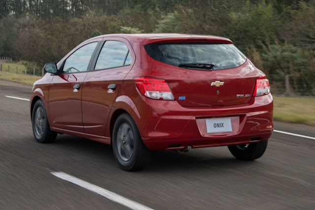 Chevrolet Onix - carro mais vendido do Brasil