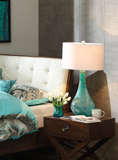 Everything Coastal Sea Glass Inspired Bedroom Style