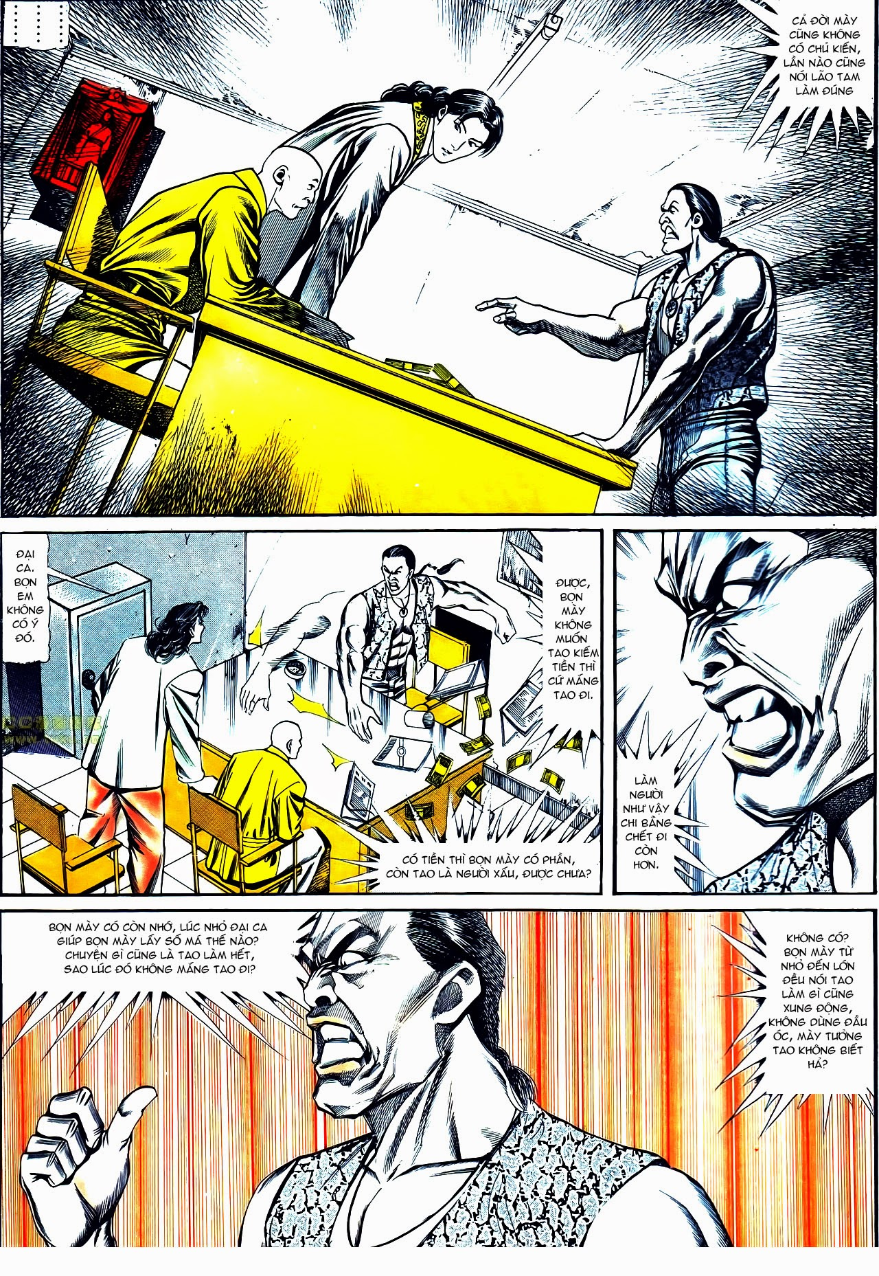 Người Trong Giang Hồ chapter 121: phong khởi vân dũng trang 11