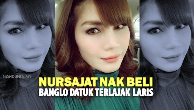 Nur Sajat Nak Beli Banglo Datuk Aliff Syukri Bernilai RM10 Juta